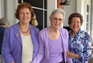 Nora, Kathy, and Barbara at 2014 Grant Luncheon